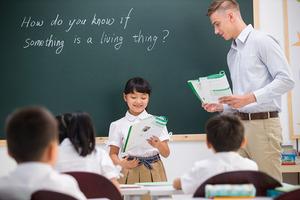 全新的寓教于乐英语教学模式,让孩子开心的学好英语